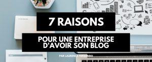 7 raisons d'avoir un blog