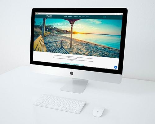 myyeti, webdesign du site par malibellule